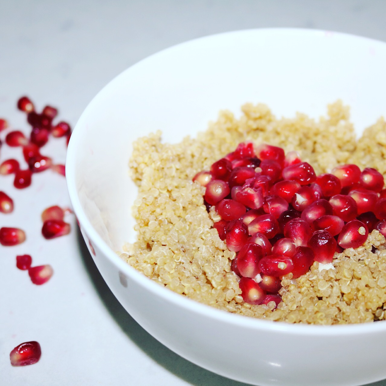 Quinoa Porridge with Pomegranates