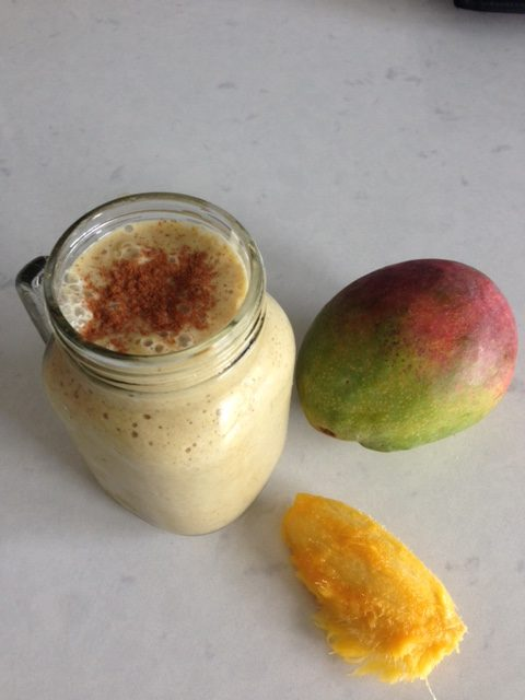 Turmeric Mango Coconut Smoothie