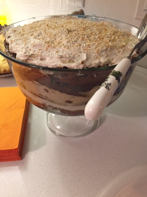 Vegan Pumpkin Trifle with Coco Whip