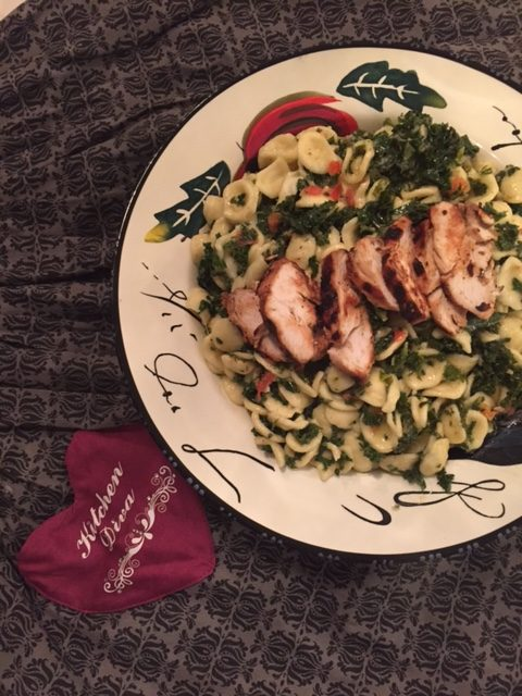 Chicken Kale Pasta