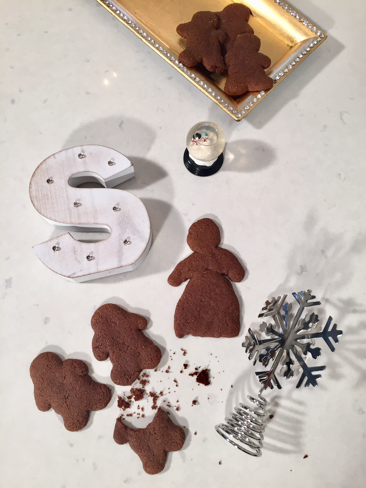 Healthier Gingerbread Men & Girl Cookies
